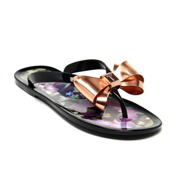 09a7a10dc94b6d Ted Baker Women s Rueday PVC Flip Flops - Entangled Enchantment  Image 3