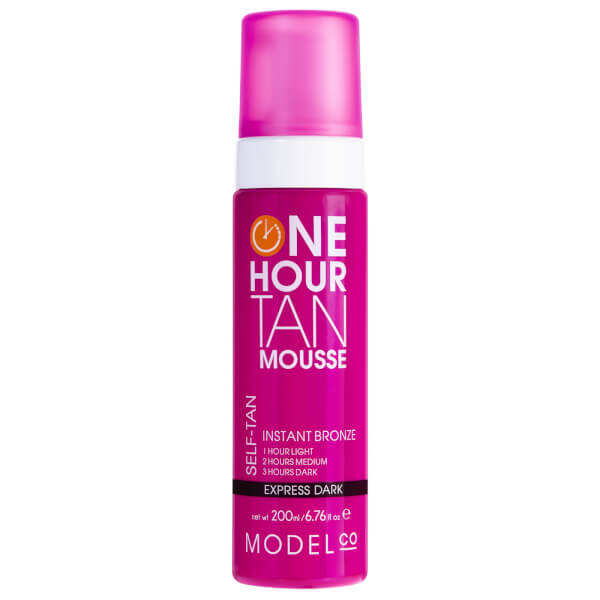 ModelCo One Hour Tan Express Dark Tan Mousse 200ml