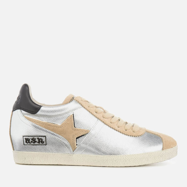 Ash Women's Guepard Ter Wedged Trainers - Seta/Silver/Black