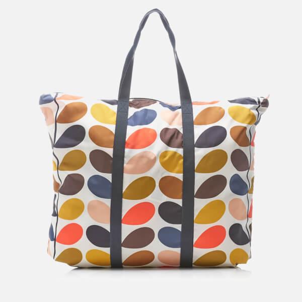 Orla Kiely Women's Stem Foldaway Travel Bag - Multi