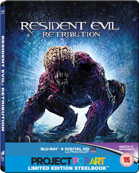 Resident Evil: Retribution - Steelbook Exclusif Limité pour Zavvi