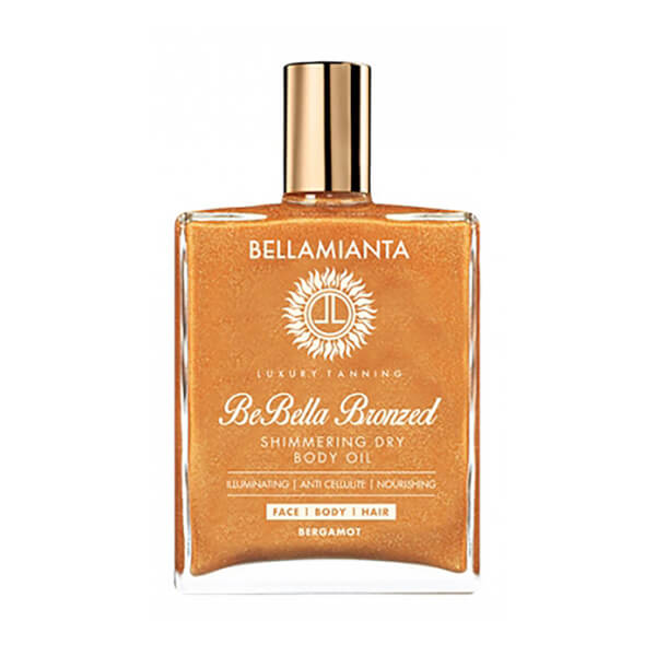 Bellamianta Be Bella Bronzed Shimmering Dry Body Oil 50ml