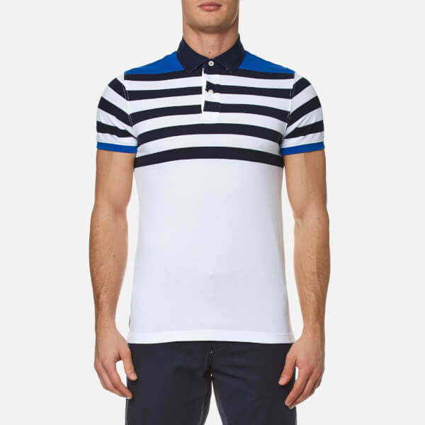 Tommy Jeans Polo - nautical blue NGf0DTxhc