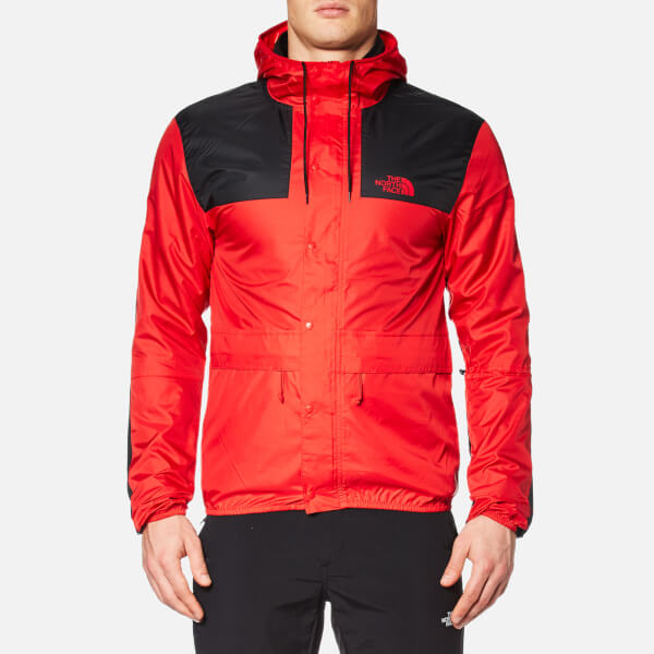 The North Face Men S Mountain 1985 Jacket Tnf Red Tnf Black