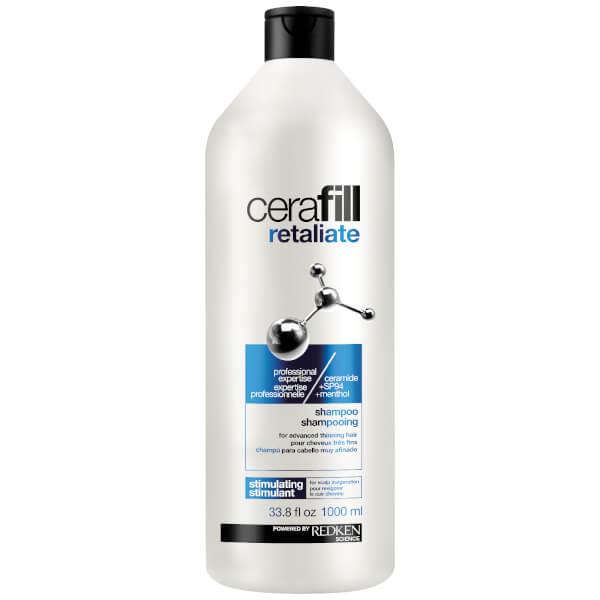 Redken Cerafill Retaliate Shampoo for Advanced Thinning Hair 33.8oz