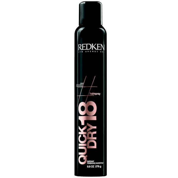 Redken Quick Dry 18 Hair Shine and Finishing Spray 9.8oz