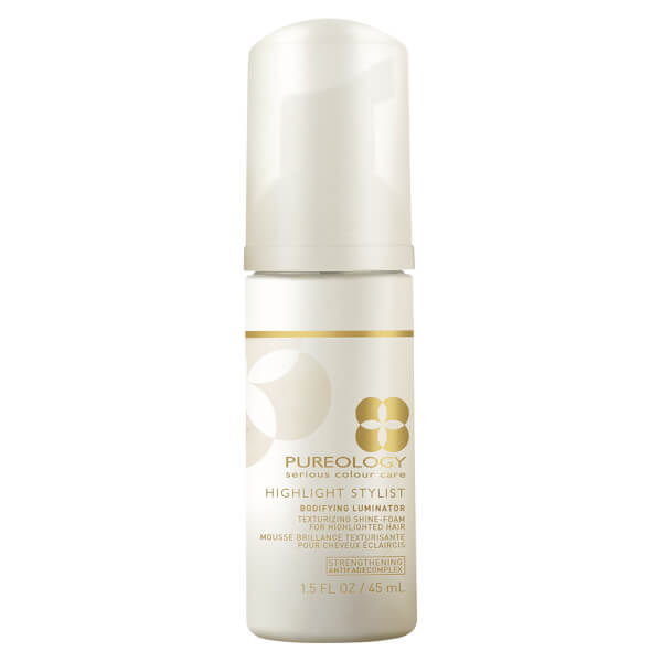 Pureology Highlight Stylist Bodifying Luminator Texturizing Shine-Foam 1.5oz