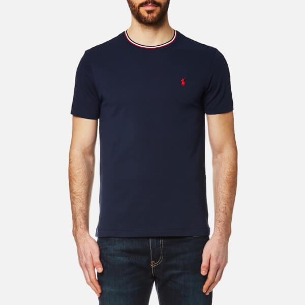 Polo Ralph Lauren Men's Tipped Crew Neck T-Shirt - Navy: Image 1