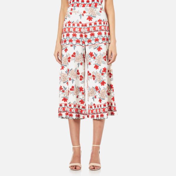 MINKPINK Women's Bed of Roses Culotte Pants - Multi