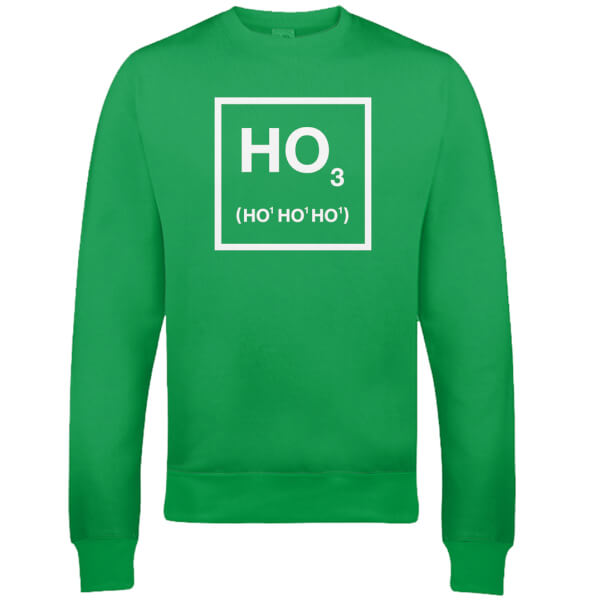 Ho Ho Ho Christmas Sweatshirt - Green