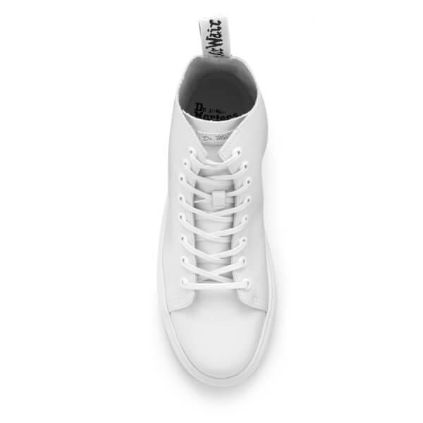 dd705b40cbeaa9 Dr. Martens Vibe Talib 8-Eye Boots - White Venice  Image 3