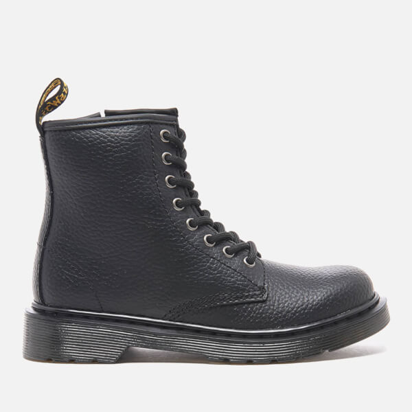DR. Martens Juniors Delaney Lace boot Negro 1mfWIm