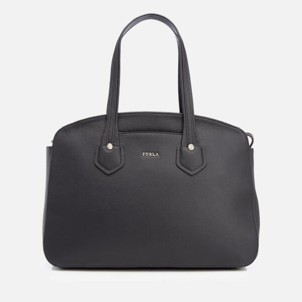 Furla Women's Giada M Tote Bag with Zip - Onyx