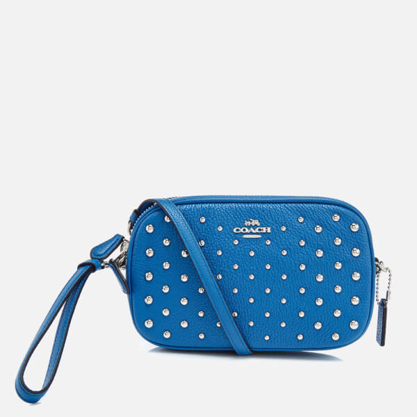 Coach Women's Cross Body Clutch Bag - Lapis