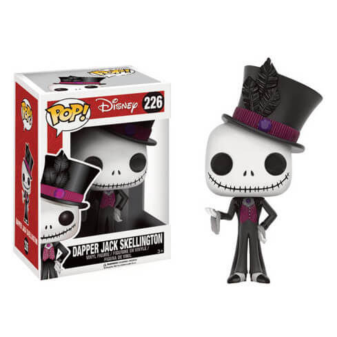 Figurine Pop! L'Étrange Noël de monsieur Jack Dapper Jack Skellington