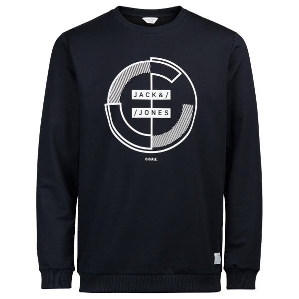 Jack & Jones Men's Core Main Sweatshirt - Sky Captain