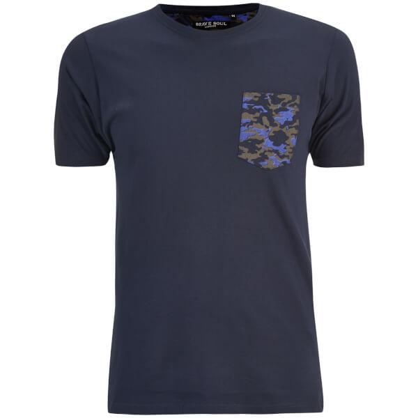 Camiseta Brave Soul Pulp - Hombre - Azul marino