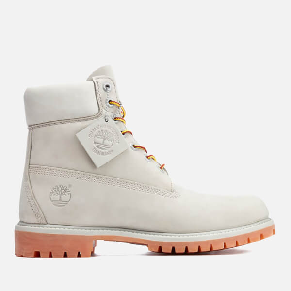 Timberland Men s 6 Inch Premium Lace Up Boots - Flint Grey  Image 1 59336c9e64f4