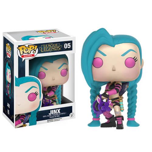 League Of Legends Jinx Pop Vinyl Figure