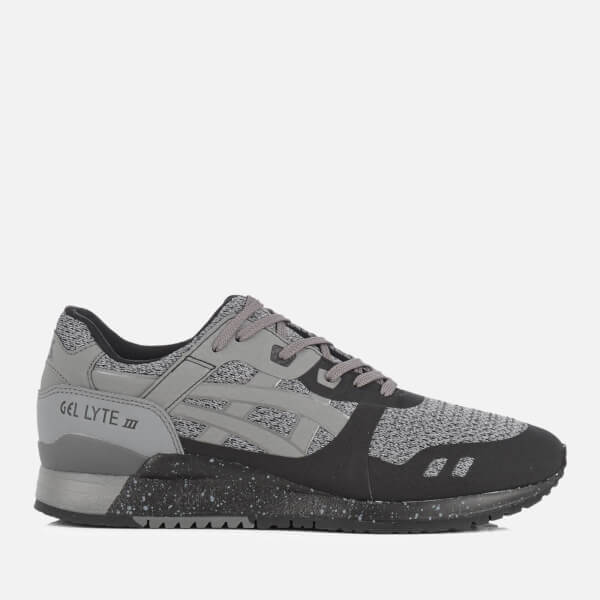 05cff145e658 Asics Lifestyle Men s Gel-Lyte III Ns Mesh Trainers - Black Carbon ...