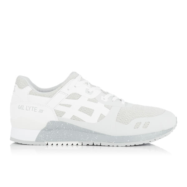 Asics Men's Gel-Lyte III Ns Mesh Trainers - Glacier Grey/White
