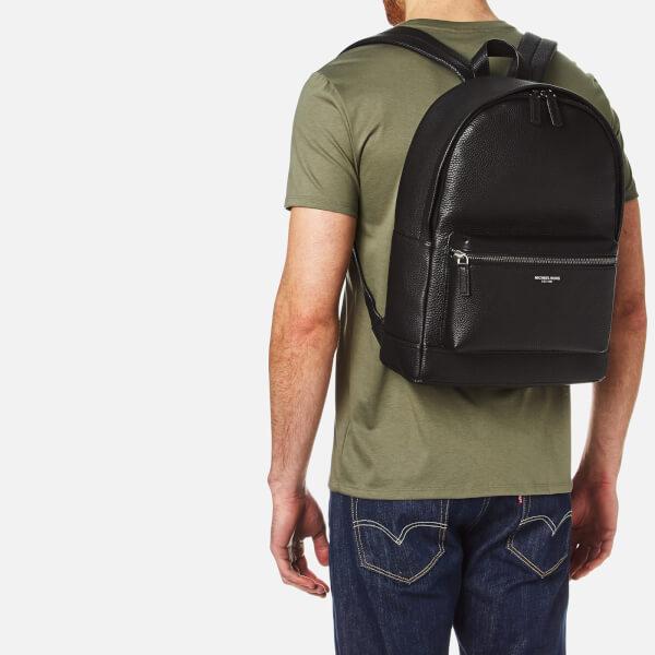 e2dc2e16943d Michael Kors Men s Bryant Leather Backpack - Black Mens Accessories ...