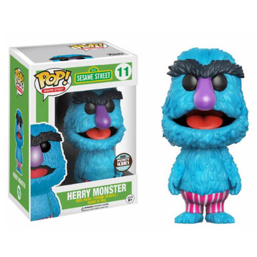 Sesame Street Herry Monster Pop! Vinyl Figure