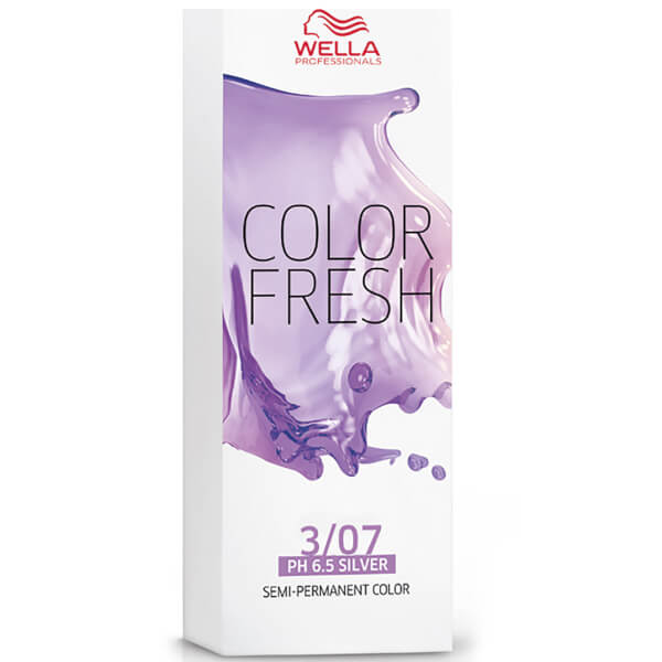 Wella Color Fresh Dark Natural Brunette Brown 3/07 75ml