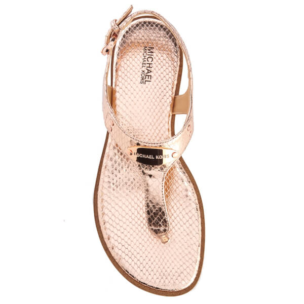 b2b949852ba7 Buy michael kors gold jelly sandals   OFF36% Discounted