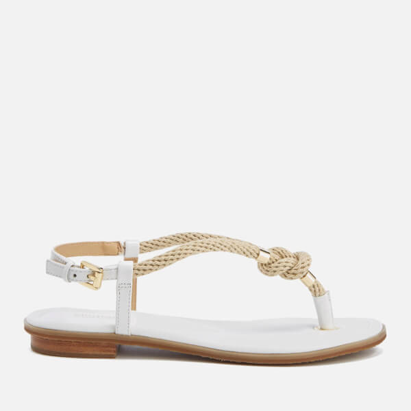 33fea547048f MICHAEL MICHAEL KORS Women s Holly Rope Strap Sandals - Optic White ...