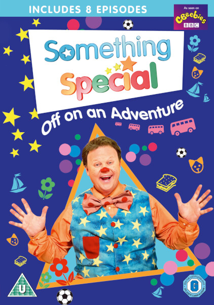 Something special off on an adventure dvd - Something special ...