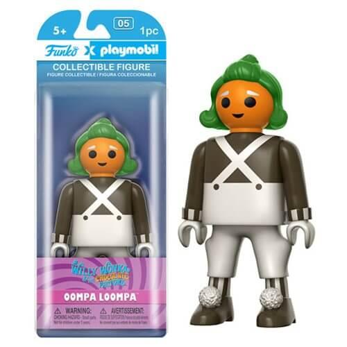 Figurine Funko x Playmobil : Willy Wonka - Oompa Loompa