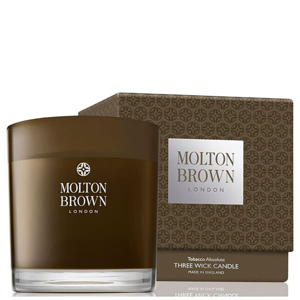 Molton Brown Tobacco Absolute Three Wick Candle 480g