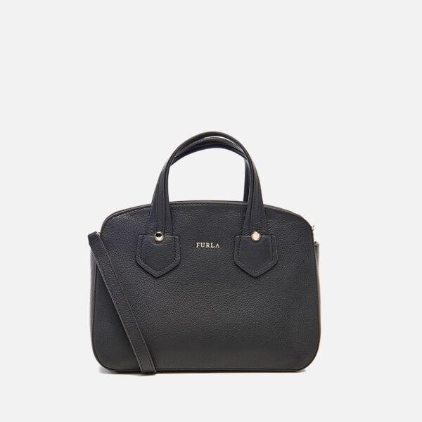 Furla Women's Giada Small Tote Bag with Zip - Black
