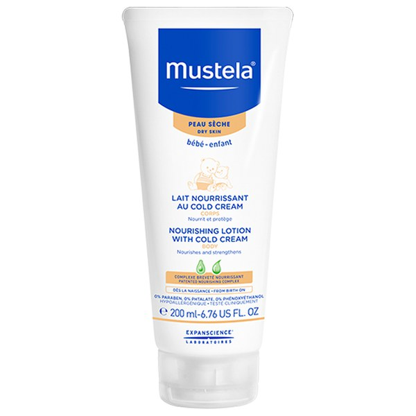 Mustela Nourishing Lotion with Cold Cream 6.76 oz.
