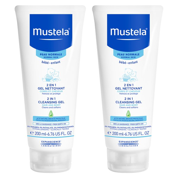 Mustela Gentle Cleansing Gel Pack of 2