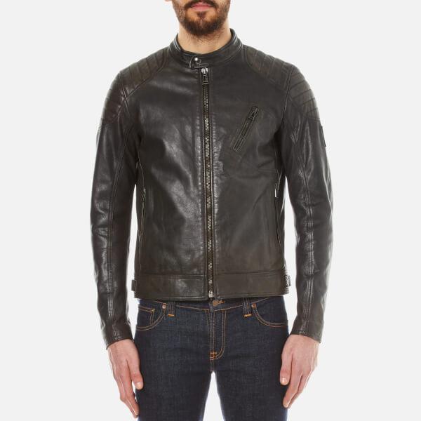Belstaff Blouson Leather Jacket