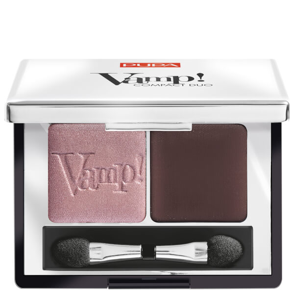 PUPA Vamp! Compact Eyeshadow Duo - Pink Earth