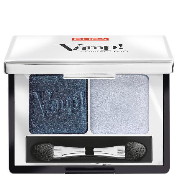 PUPA Vamp! Compact Eyeshadow Duo - Magnetic Blue