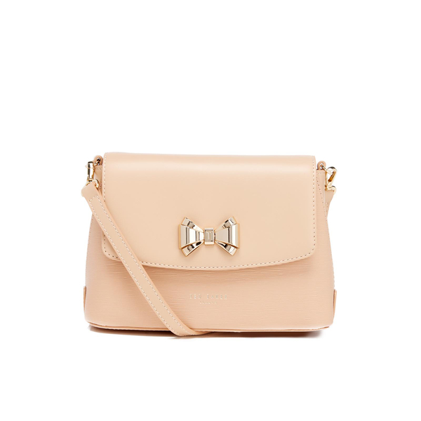 ff311722aadcfc Ted Baker Women s Tessi Curved Bow Cross Body Bag - Taupe Womens ...