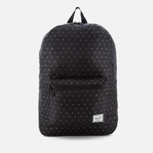 Herschel Supply Co. Packable Daypack - Black Gridlock