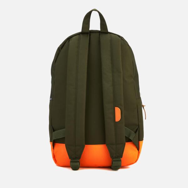 2ac48c8f47d Herschel Supply Co. Settlement Backpack - Forest Night Vermillion Orange   Image 2