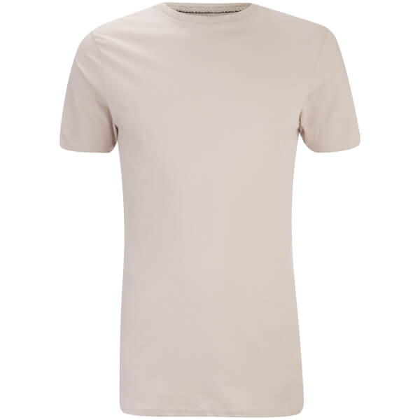 Threadbare Men's Max Long Line T-Shirt - Fawn
