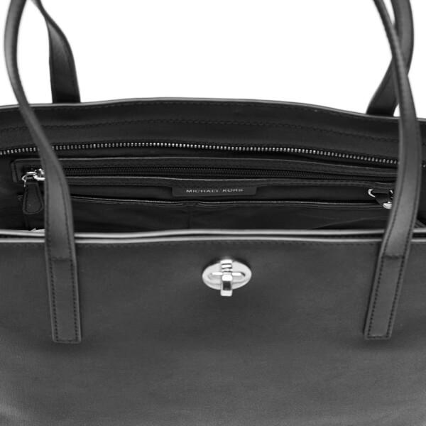 43950d958780 MICHAEL MICHAEL KORS Women s Rivington Stud Large Tote Bag - Black  Image 4