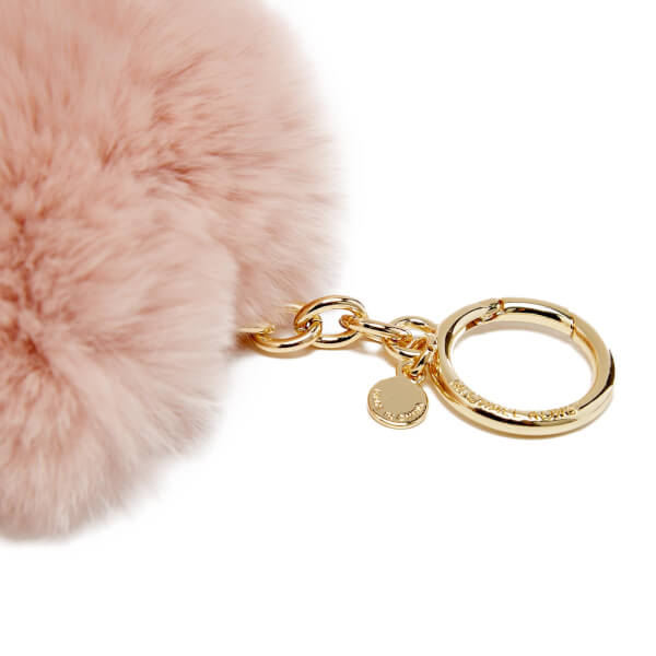 MICHAEL MICHAEL KORS Women s Pom Pom Heart Key Ring - Soft Pink  Image 3 836659c1b