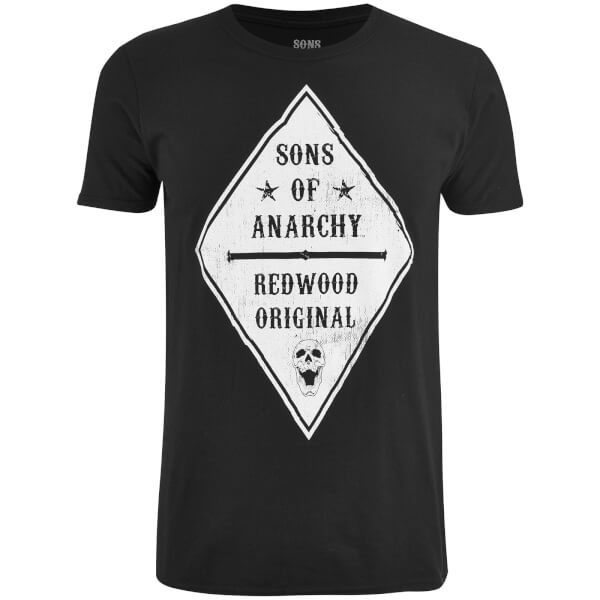 Sons of Anarchy Men's Skull Club T-Shirt - Black
