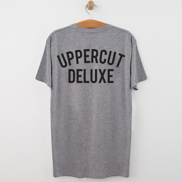 Uppercut Jersey T-Shirt - Grey/Black Print
