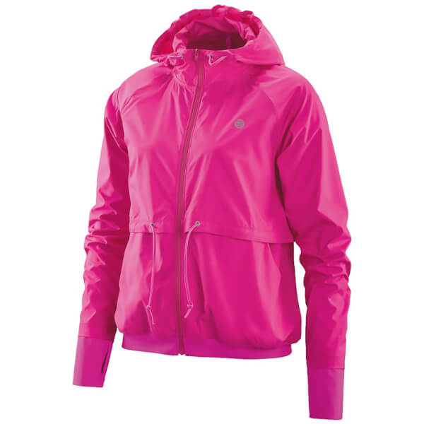 Skins Plus Women's Distort Lightweight Jacket - Magenta