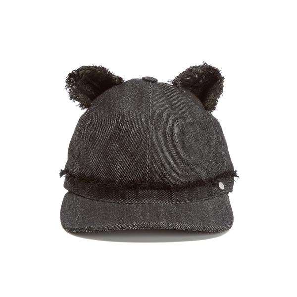 Karl Lagerfeld Women's Cat Ears Cap - Black