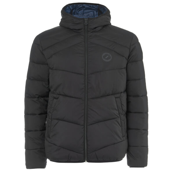 Jack & Jones Men's Originals Landing Puffer Jacket - Black